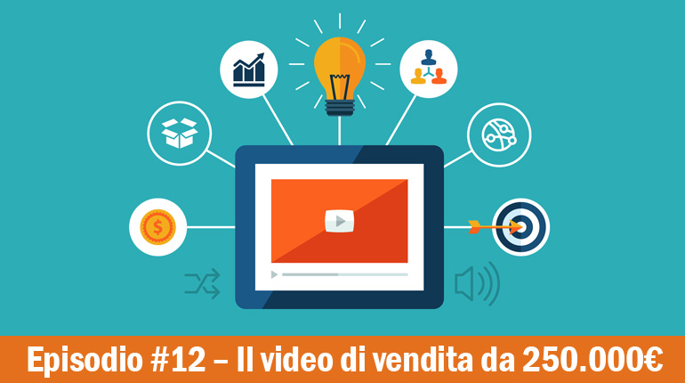 Fare un video di vendita